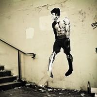 Photo of a boxer