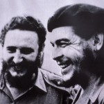 CUBA, PORTRAIT DE FIDEL CASTRO ET D&#039;ERNESTO CHE GUEVARA