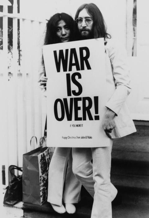 Les années 70, John Lennon et Yoko Ono, Gamma-Rapho